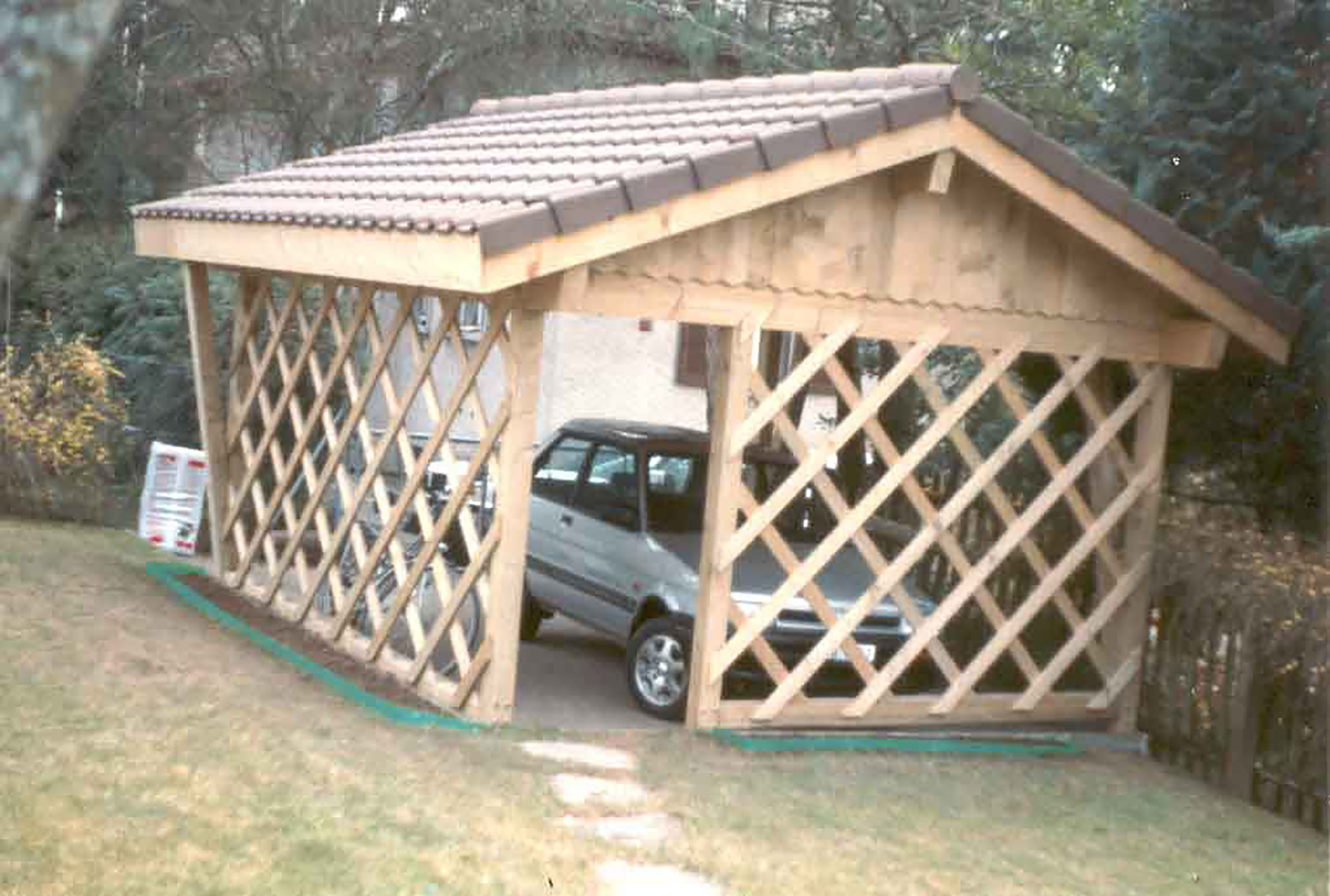 Carport 2 places