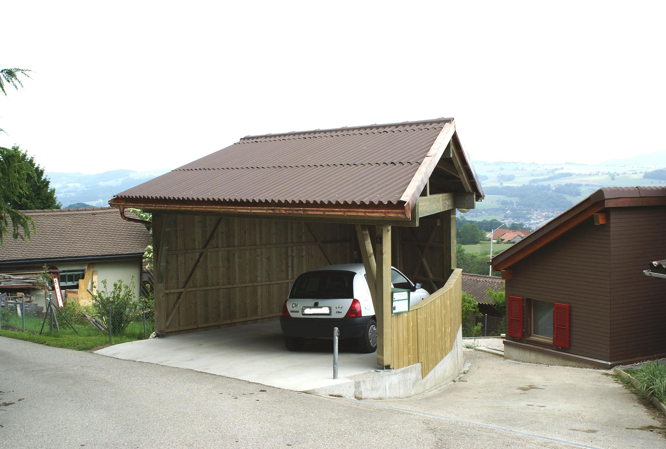 Carport 2 places