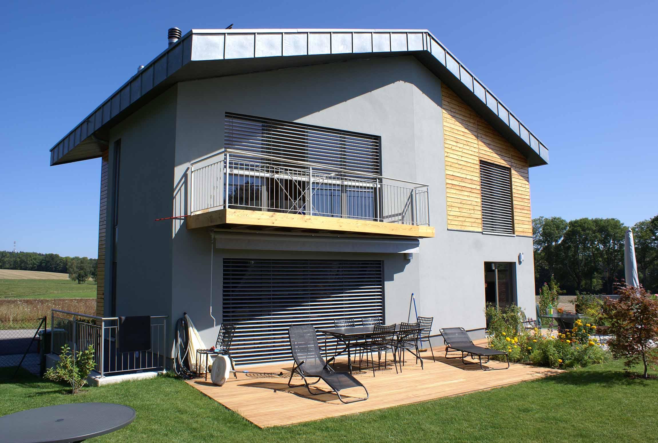 Construction bois gebhardt sa for Porche de maison en bois